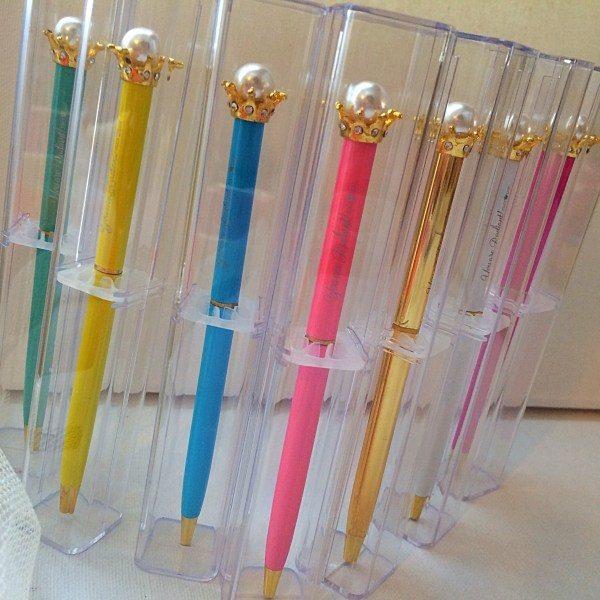 Radiant Pearl Crown Pens