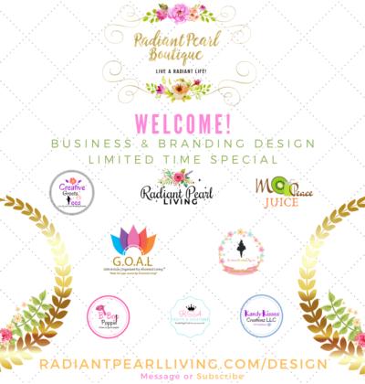 Radiant Pearl Boutique Branding Promo
