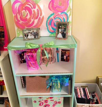 Re-purposed book case