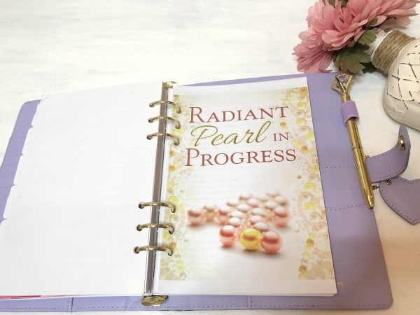 Inside A5 Planner with Devotional