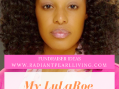 Pinterest Fundraising Idea Cover for LuLaRoe Review You Tube Blog Post