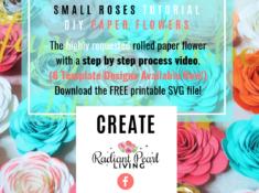 3rd IG Blog Paper Flower promo