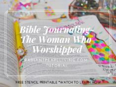 Facebook Bible Journaling Tutorial Post