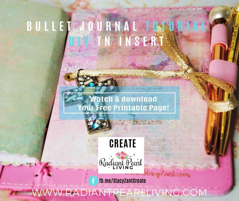 Bullet Journal DIY TN Insert Photo 1 for FB