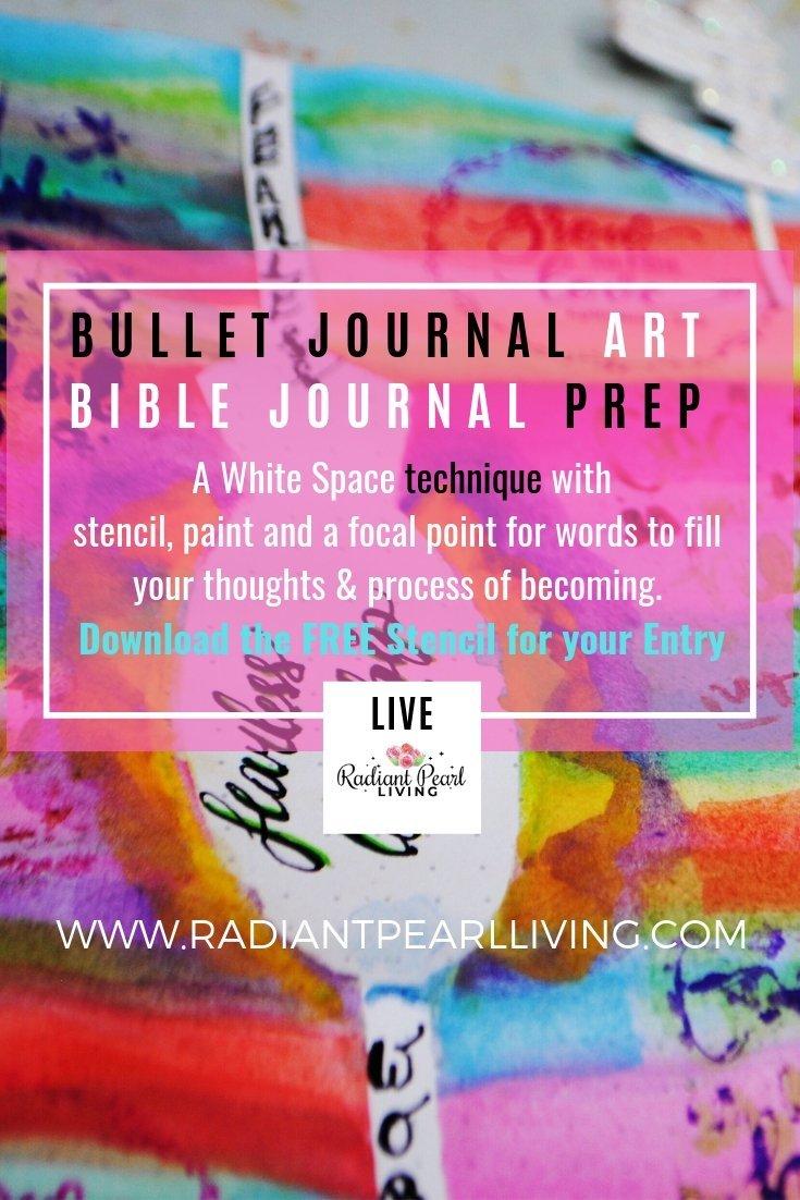 Pinterest Bullet Journal Prep for FB Monday More inspo Bible Journal LIVE