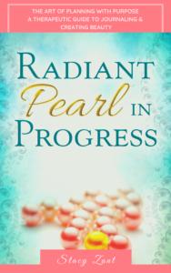 Radiant Pearl in Progress Digital Planner Cover
