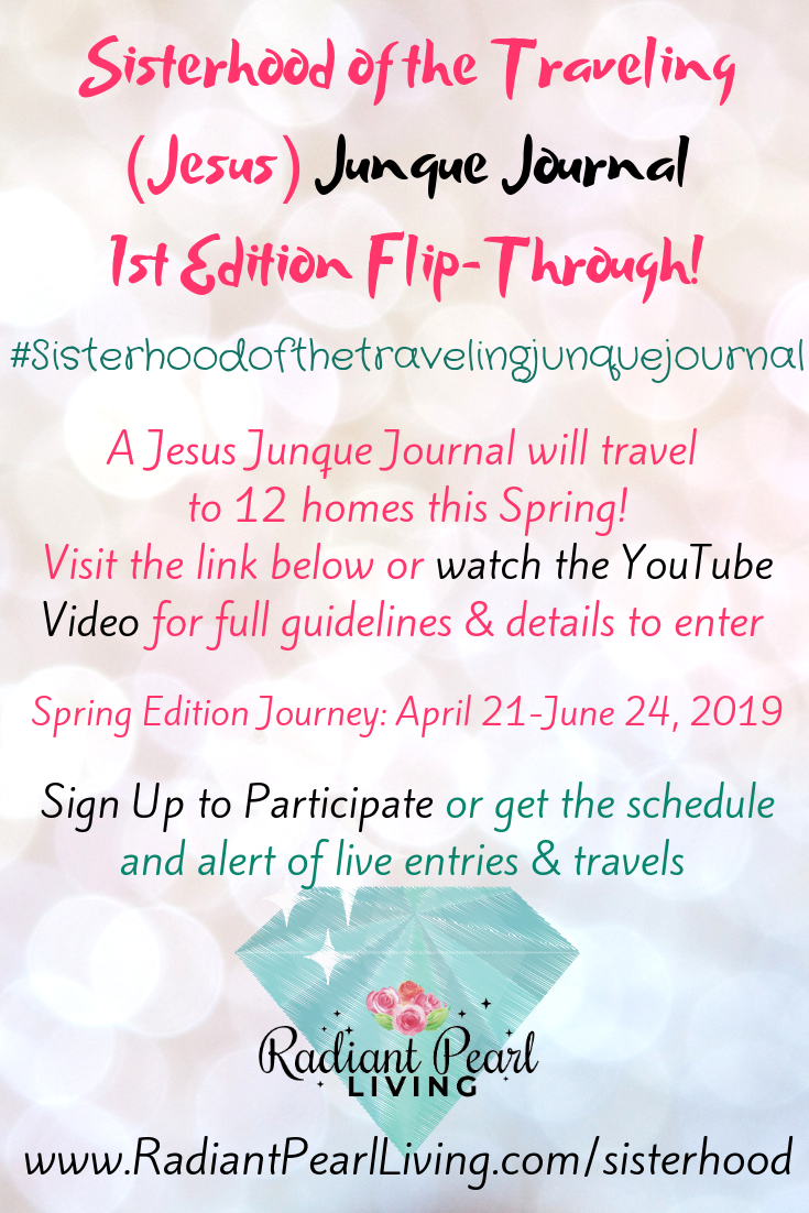 Sisterhood of the Traveling Junque Journal Flip Through Video and call for entries