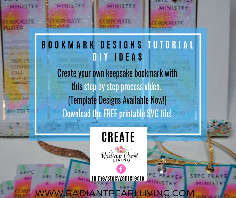 Bookmark Design Tutorial and DIY Template