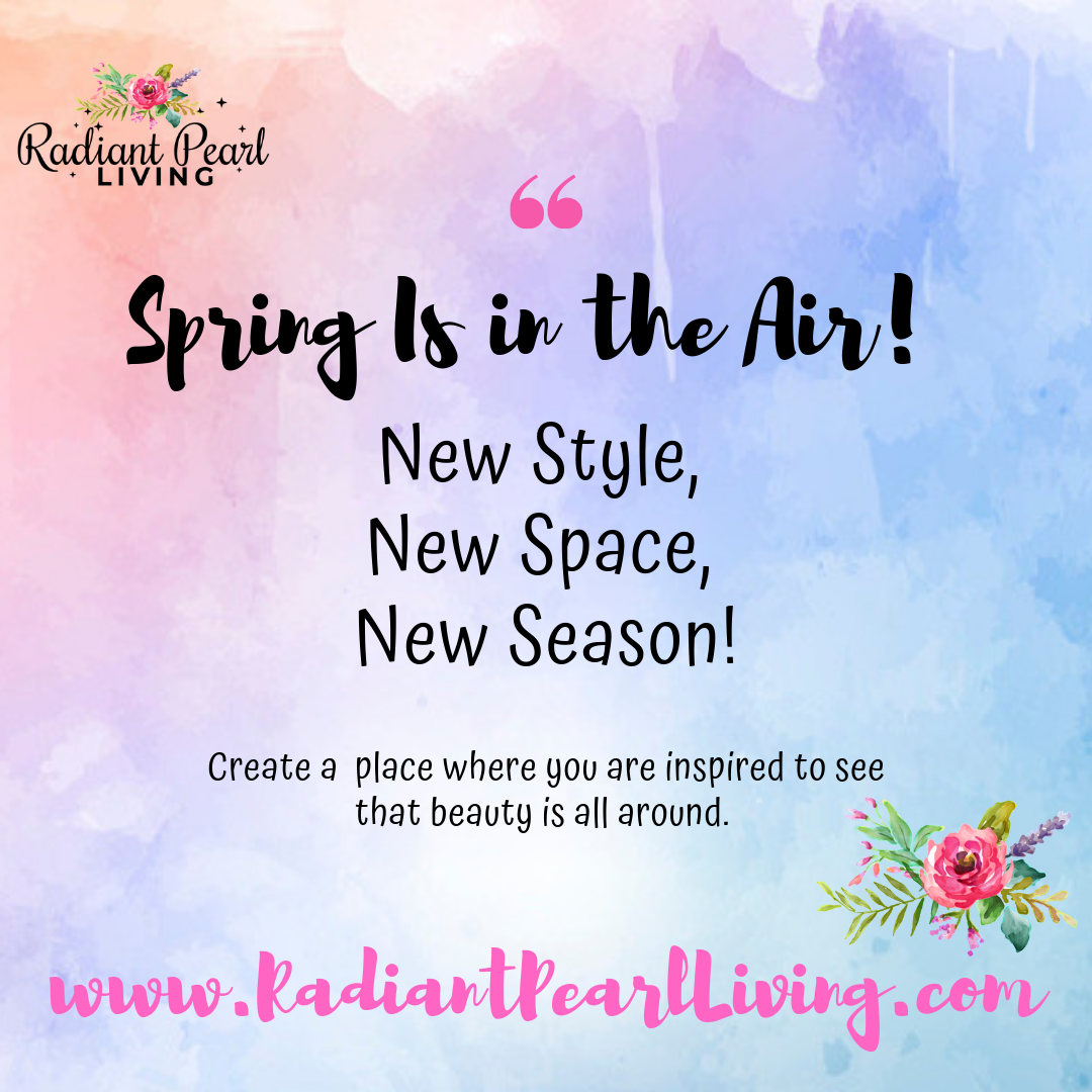 Declutter and ReDesign Spring Season Quote
