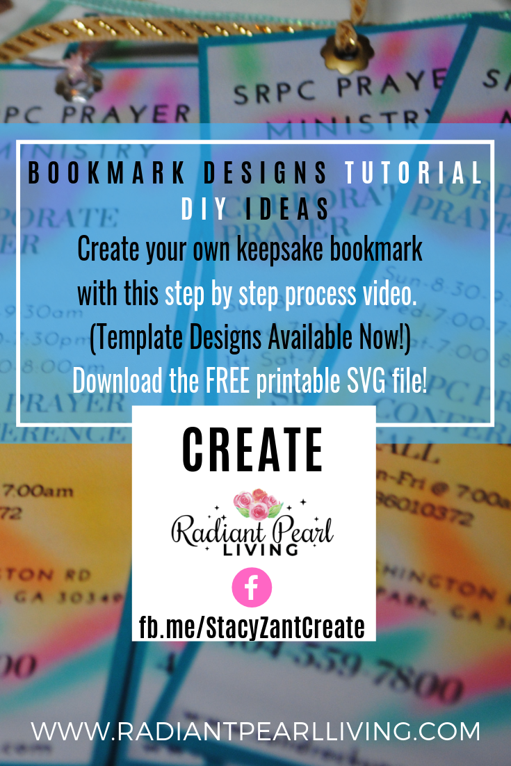 Bookmark Design Tutorial Pinterest Promo 1