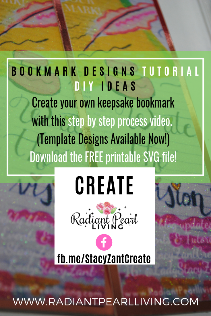 Bookmark Design Tutorial Pinterest Promo 2