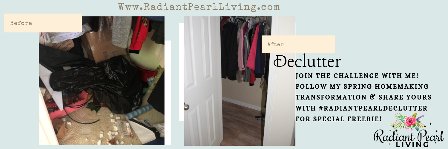 Declutter closet photo challenge on twitter