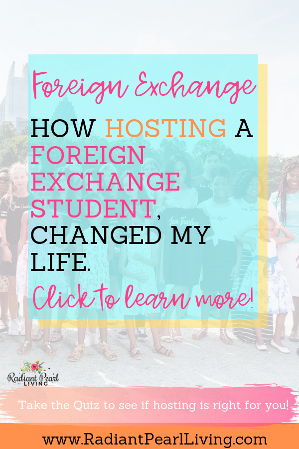 Do you want to know how hosting a foreign exchange student changed my life? Or maybe you are here because you are already interested in hosting foreign exchange students and want to know the benefits? See how hosting and coordinating changed my family's life and it will enrich your life in more ways than one.