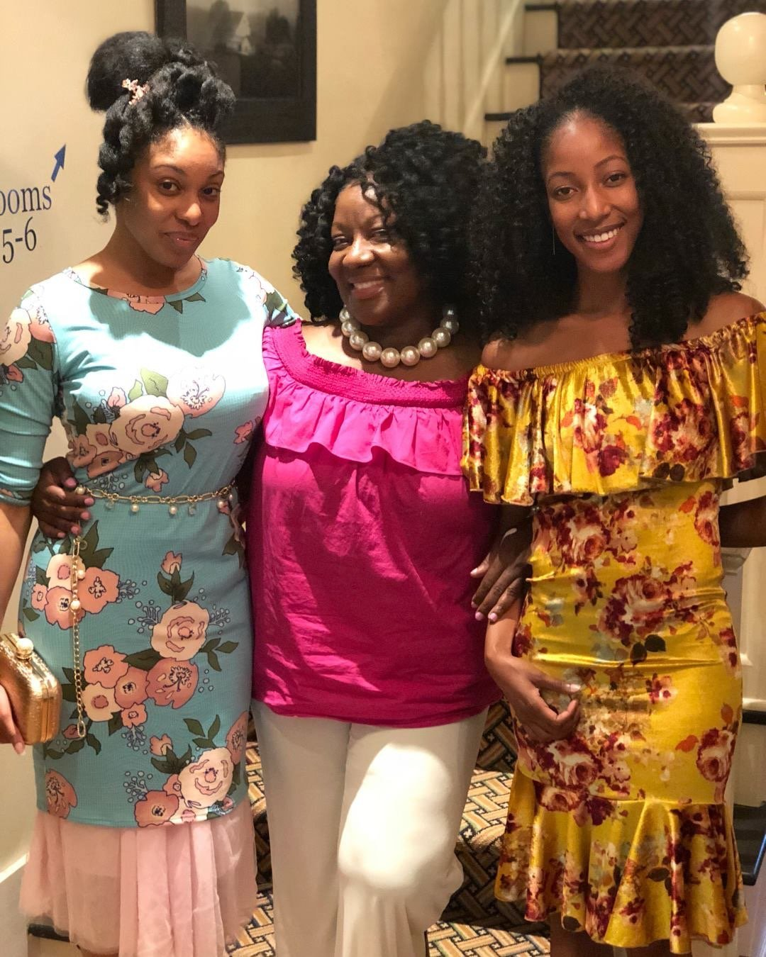 Mom and her girls Mother's Day May 2018