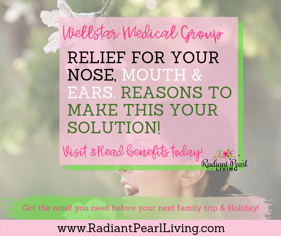 Are you ready for relief for your nose, mouth and ears? These are sure solutions you can consider through the Wellstar Medical Group before your next family vacation as you plan your next outdoor adventure. Visit to Read Full Article and Pin to Save!