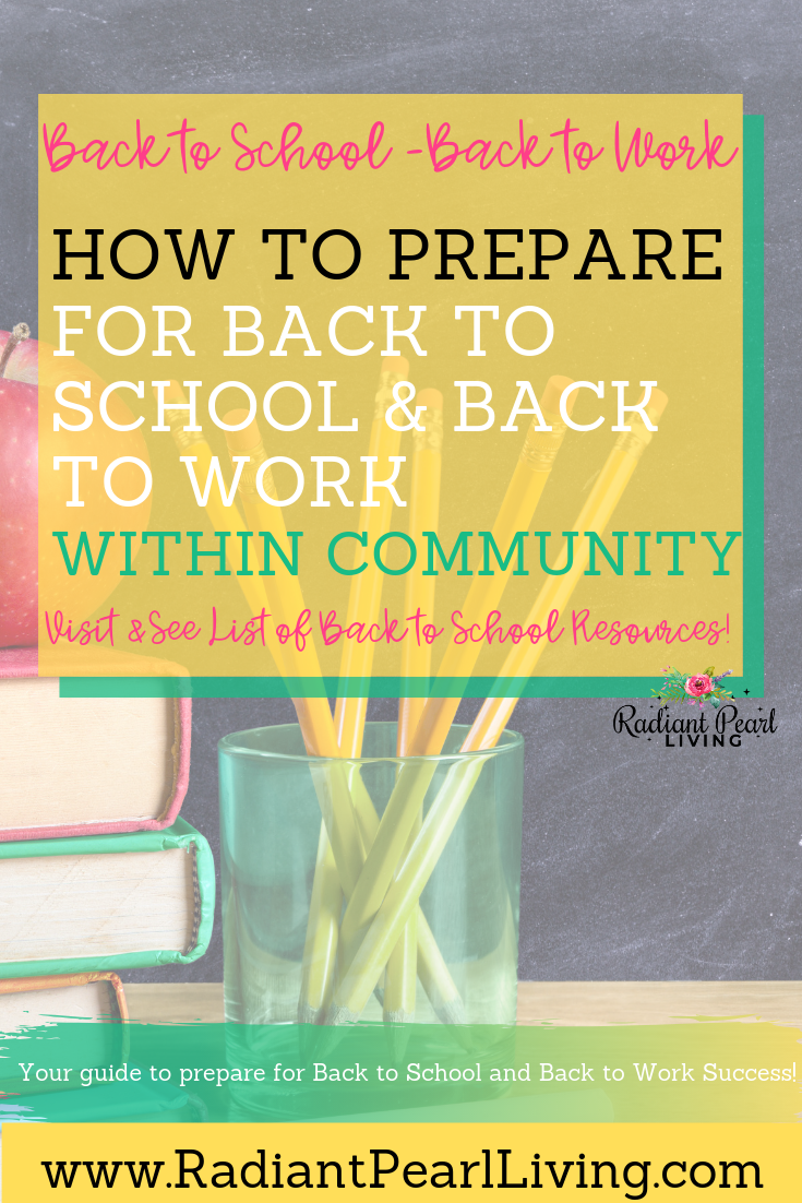 Looking the best deals and resources to prepare for back to school? This article is for parents, students and those returning from extended summer vacations-Back to work is here!  I share tips and tools to help you find just what you need this new season of the new school year ahead. Click to Read and Pin to Save!