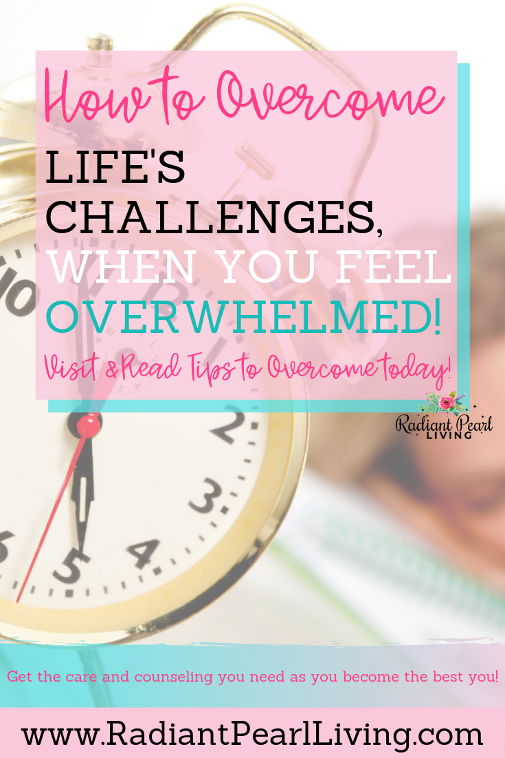 Have you ever felt so overwhelmed you weren't sure what to do? It can be really hard to get past feeling overwhelmed, but I have a few tips to hopefully help you out the next time you do feel overwhelmed. Click to learn more and Pin to Save!