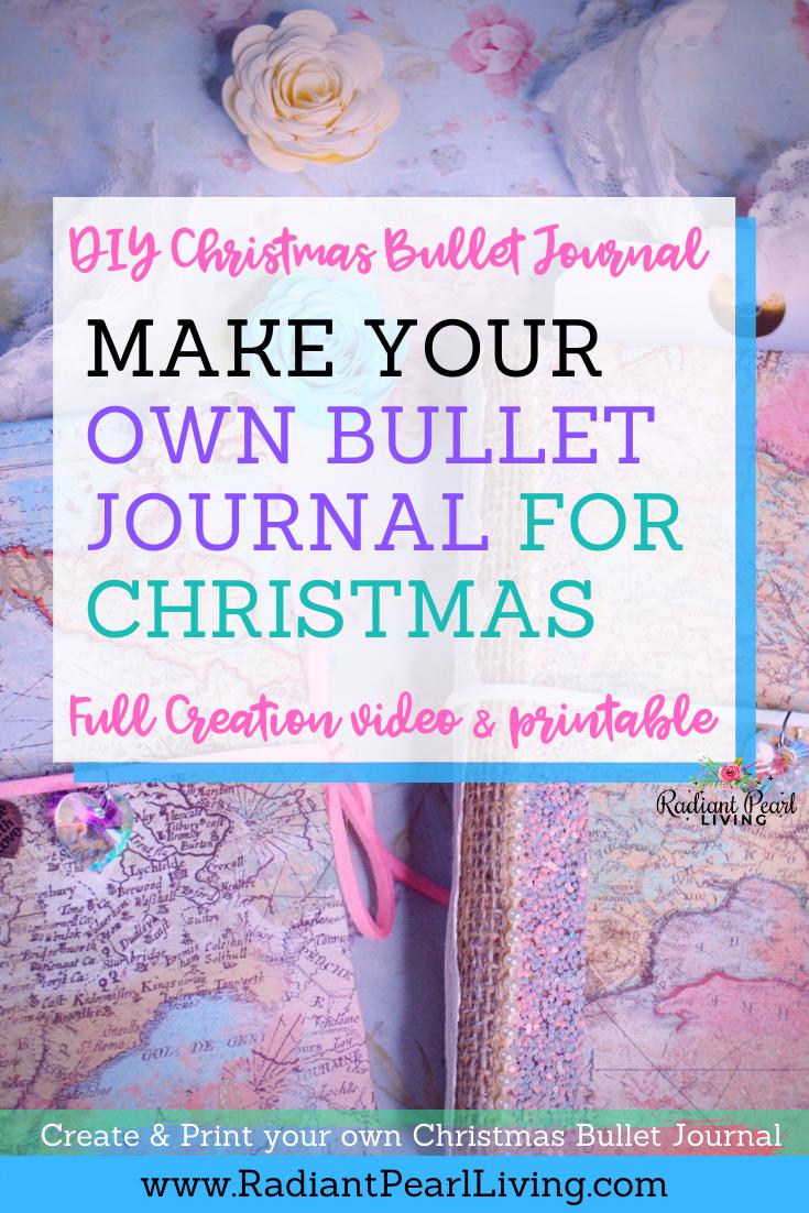 DIY Bullet Journal for Christmas pin