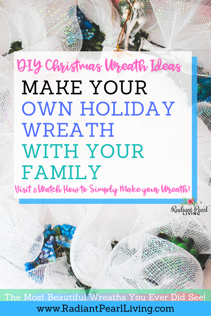 DIY Christmas Wreath Tutorial and Ideas