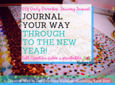 DIY Daily December January Journal