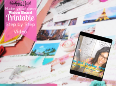Vision Board 2020 FB Post with Ribbon Bunting