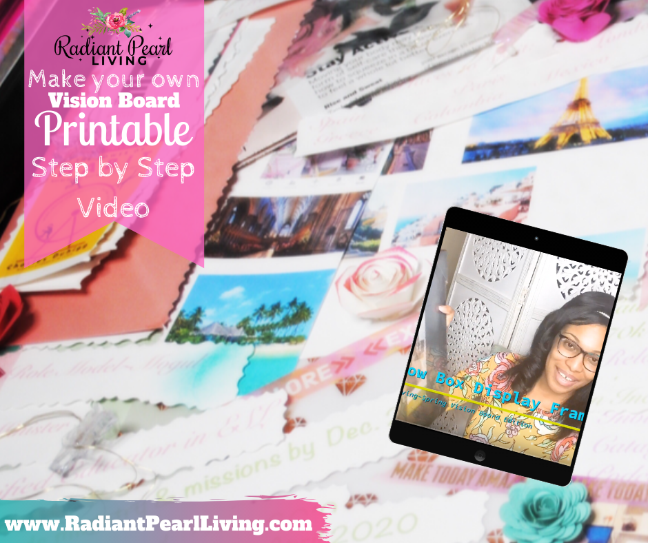 How to create a vision board that inspires you each season. A step by step article and video tutorial to guide you to create your own or have a party to create in community! Learn the importance of refining your vision.