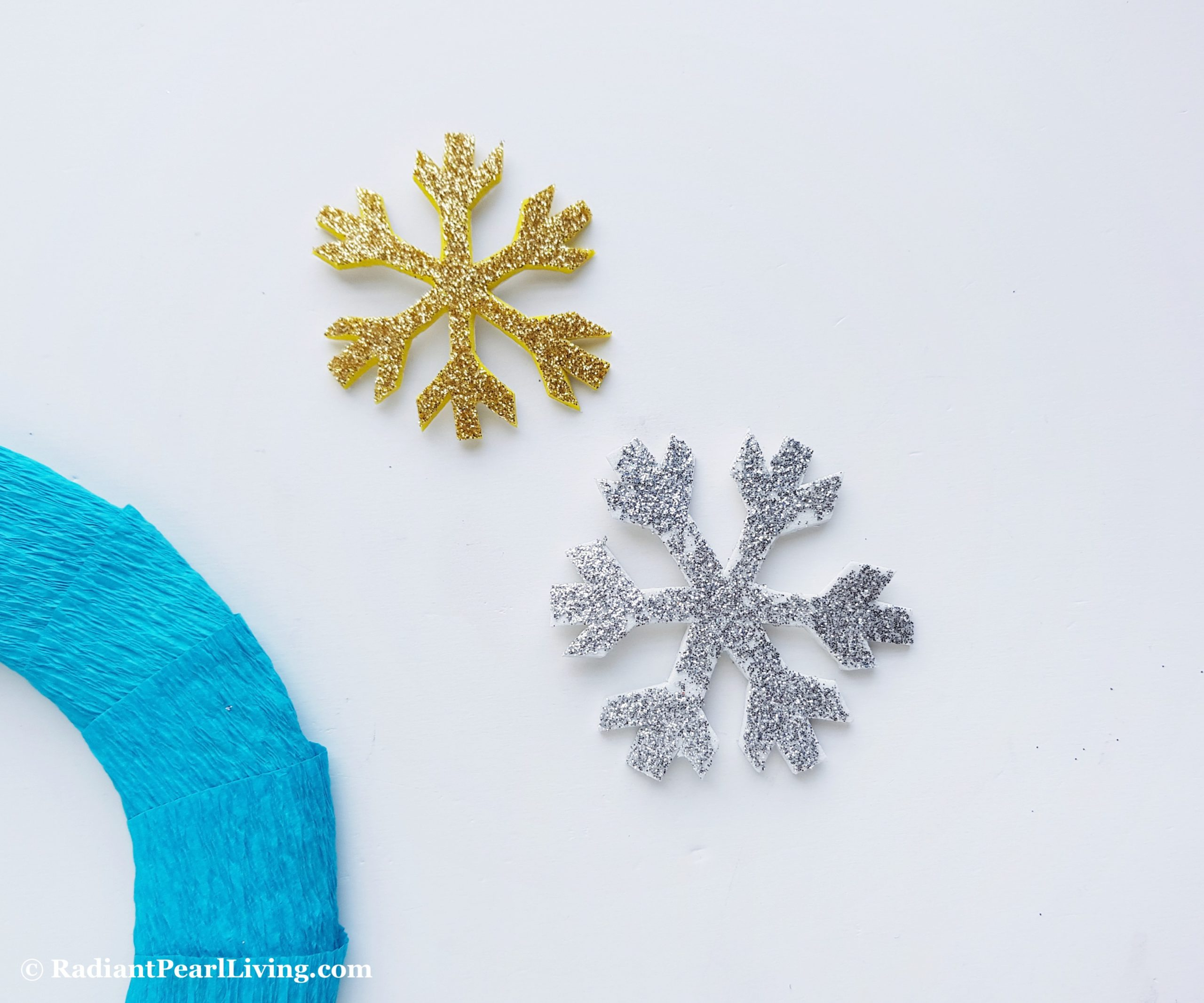 Step 4 Frozen Wreath Craft