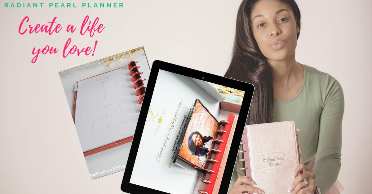 Create a Life You Love Planner Set Sneak Peak