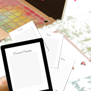 Pin Bullet Journal Notes and To-Do List Printable Sheets