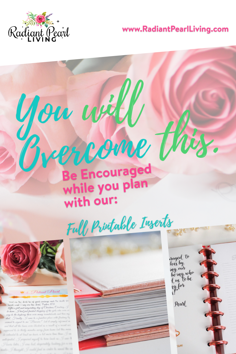 Overcome with our Encouraging Printables