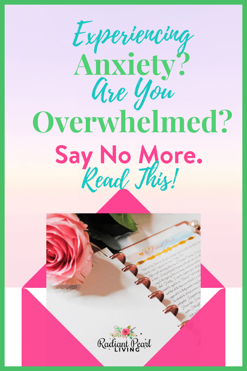 Are you experiencing Anxiety? Have you ever felt so overwhelmed you weren't sure what to do? I have a few tips you can use right now to help you  out. Read the full article and say no more to anxiety and the overwhelm.
