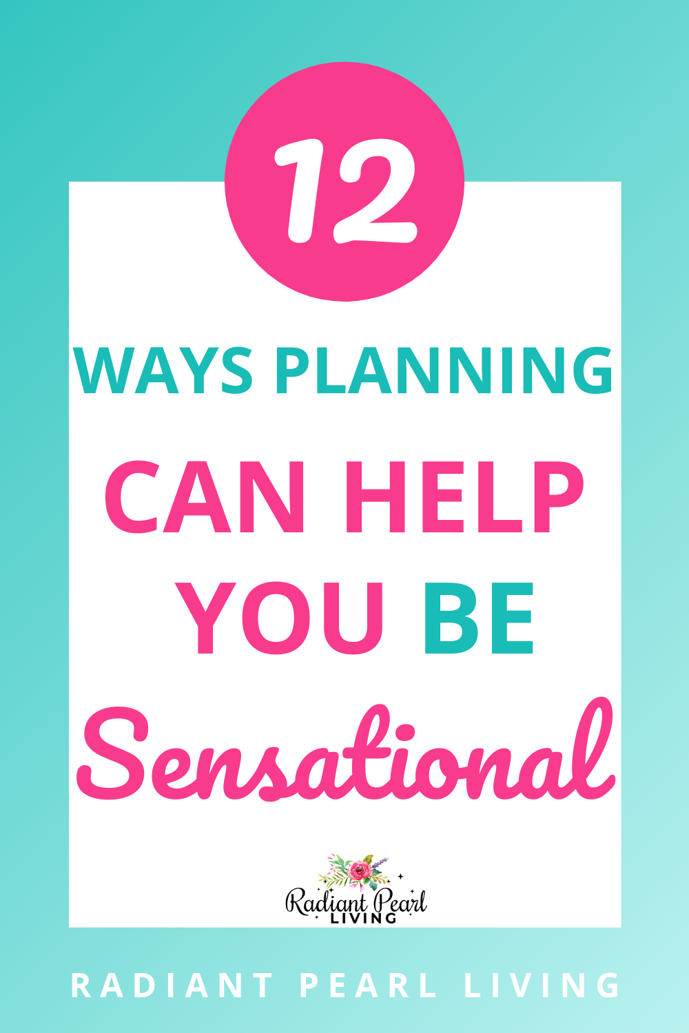 Can planning help you be sensational? Here are 12 ways planning can help you be exceedingly or unexpectedly excellent or great. This simple guide and method will make you achieve your goals in life.