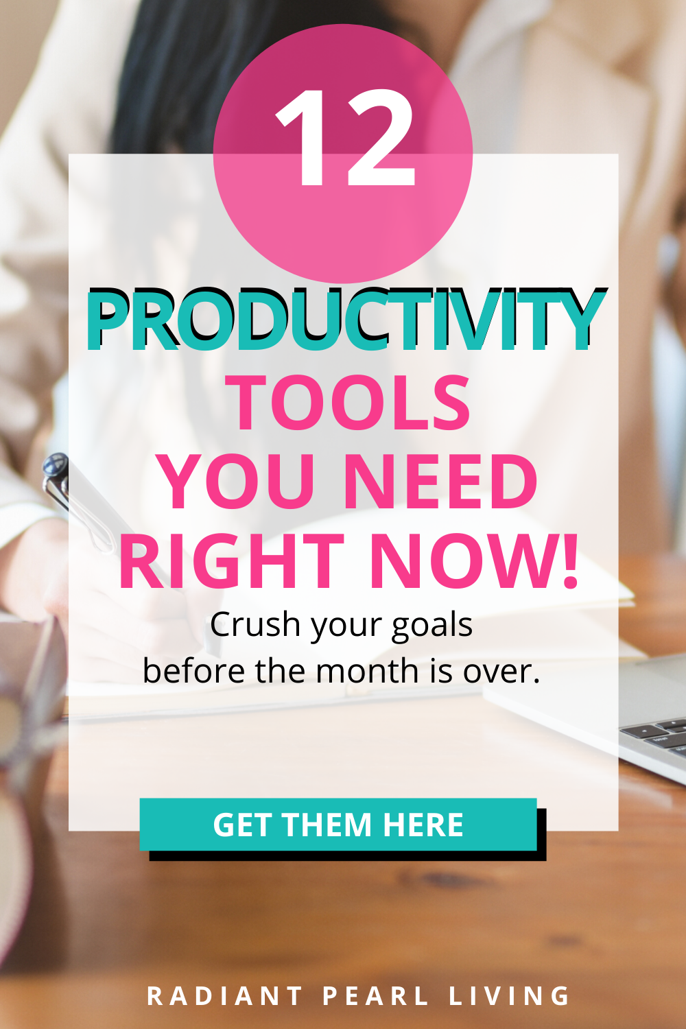 Crush your goals with this list of Productivity tools you need right now. Grow your blog, social media influence, at-home business and see tips & tools to achieve the things you always hoped you would as a blogger, influencer and entrepreneur.