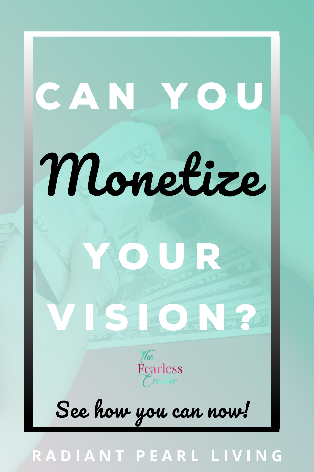 Can you monetize your vision for your blog, podcast or business? We share how exposure and preparation can help you further your vision through monetization and a widespread call for support.