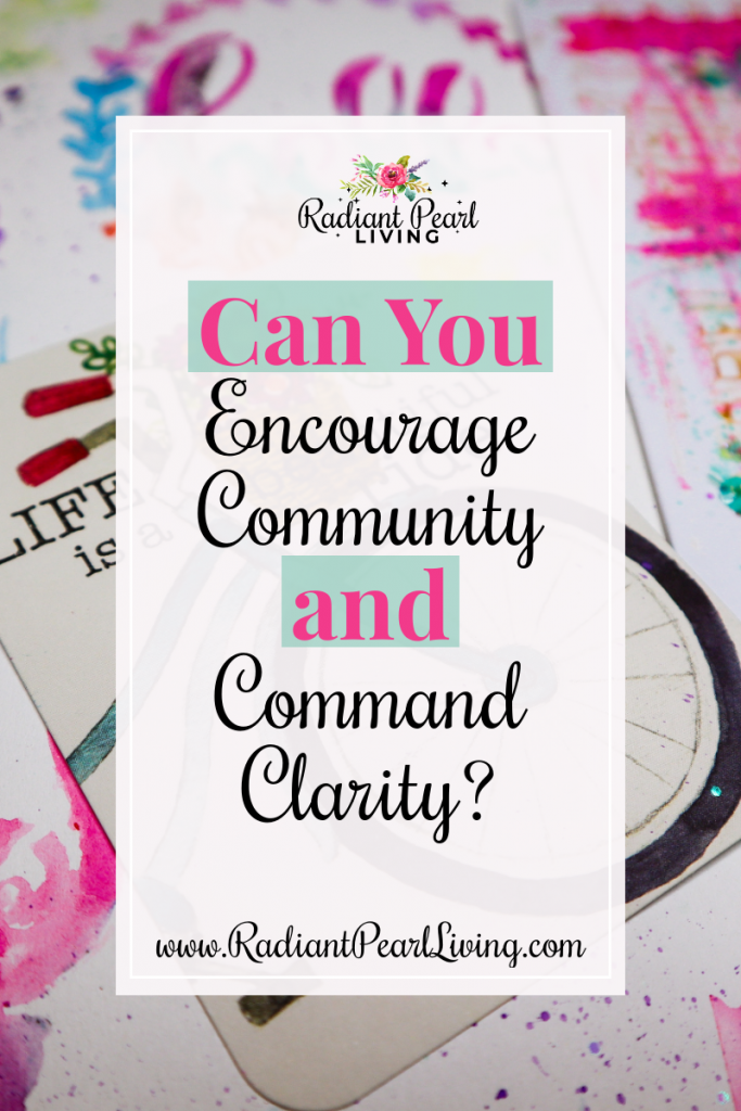 Encourage Community and Command Clarity Through Journaling Pin