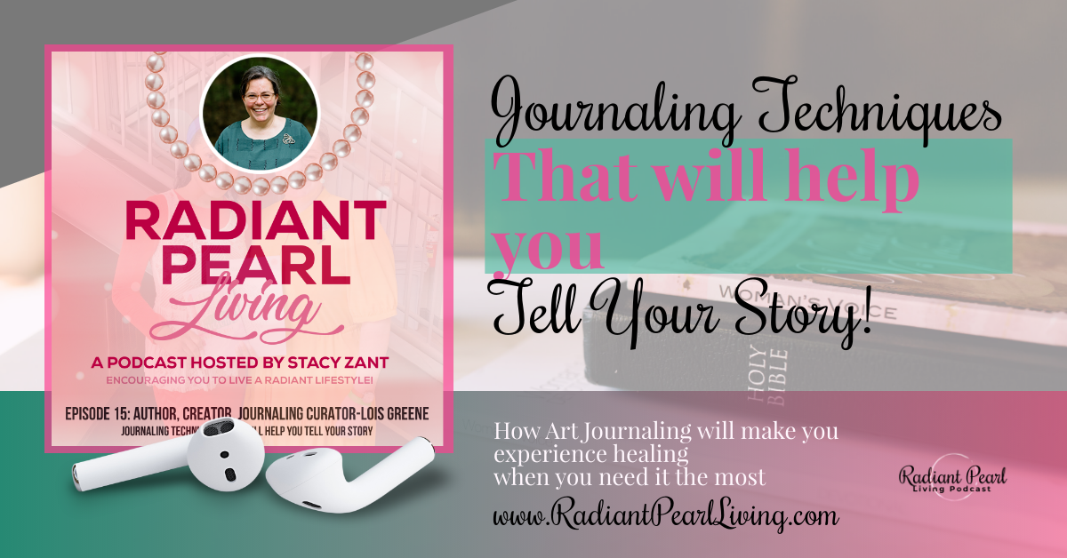 Join us as we explore Journaling Techniques that will help you tell your story with Lois Greene. We want to introduce to you ways you can deal with all that is going on in your life right now. Move from verbalizing your feelings to writing and recording your story during this moment that will go down in history.