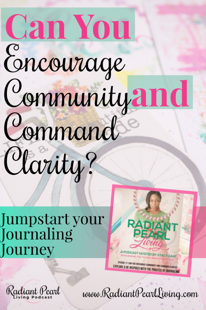 Can You Encourage Community and Command Clarity Through Journaling? Art Journaling just may be your solution to winning! Jumpstart your journey to wellness into the new month with this free webinar and daily challenge tutorial. 10 Days of Art Journaling Demonstration.