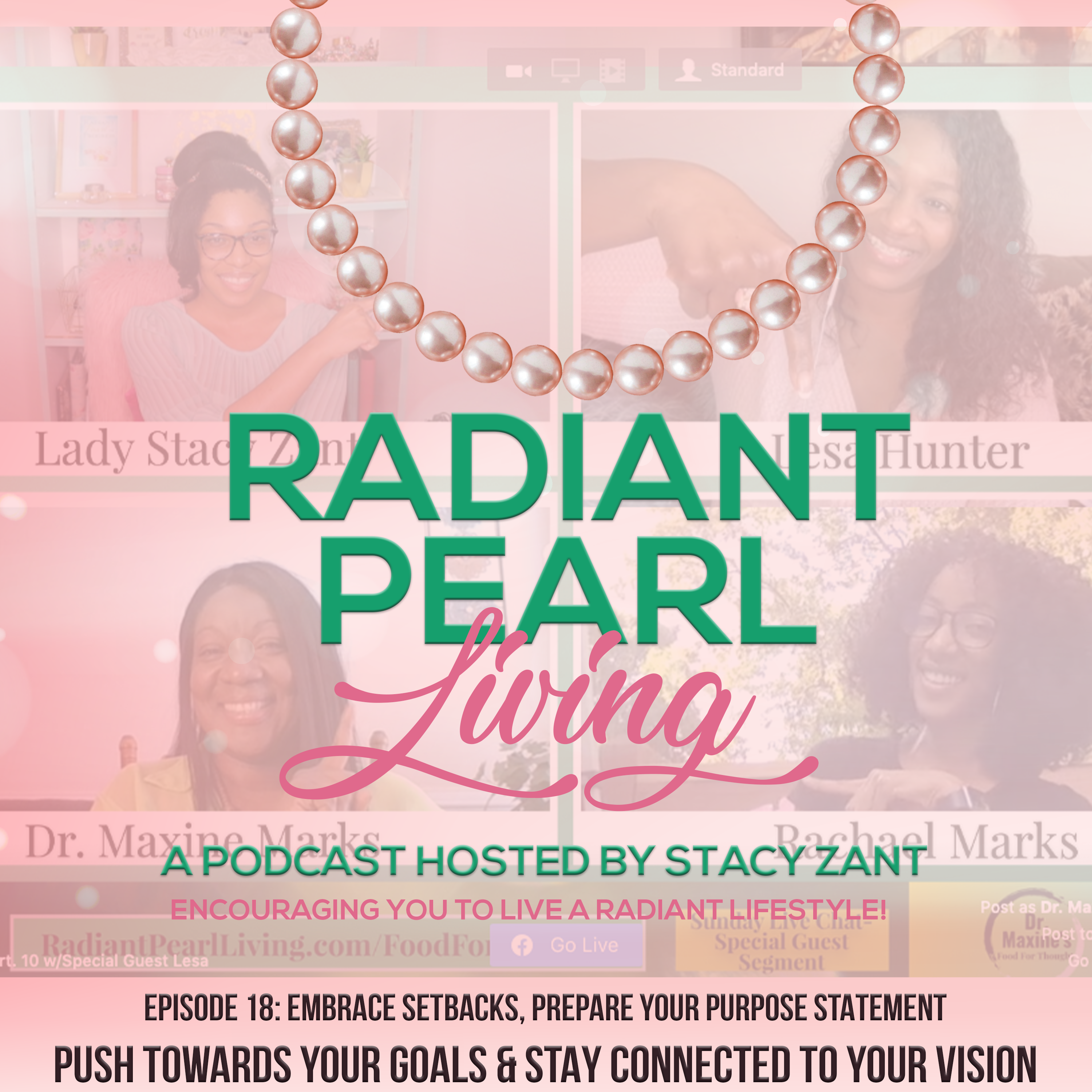 Ep. 18 Embrace Setbacks and Prepare Your Purpose Statement Cover Art