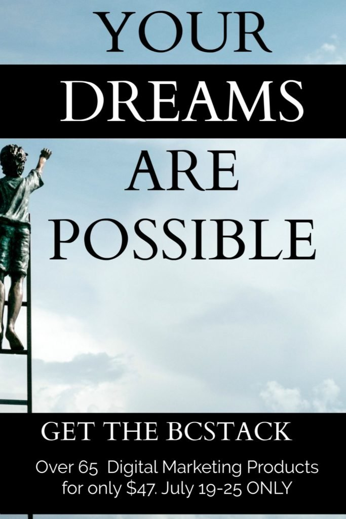 Dreams Are Possible BC Stack Pin