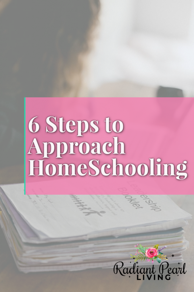 Learn six steps to approach homeschooling. Handle the pandemic like a boss as back to school draws near. You do not have to be anxious or nervous about your child starting this fall when you choose to homeschool.