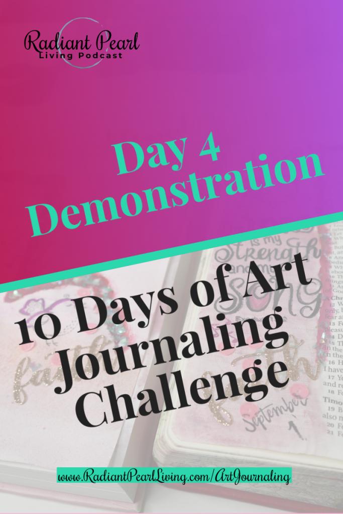 Day 4 Art Journaling Demo Pin