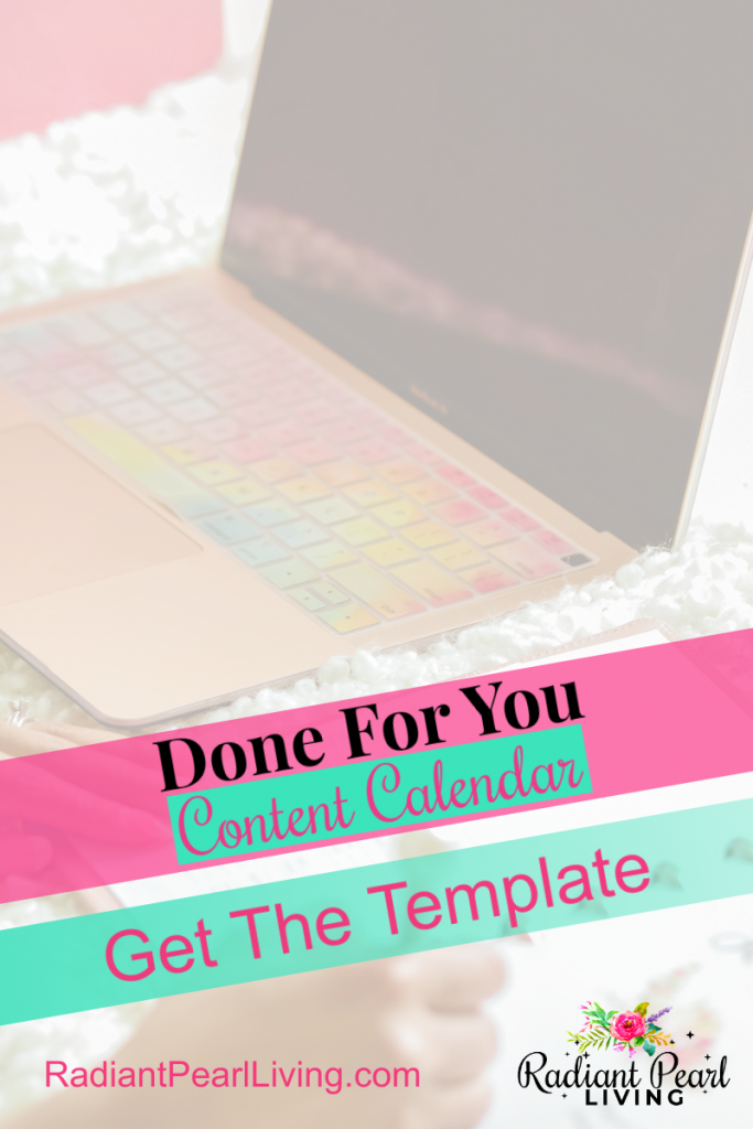 Get The Done for You Content Calendar Template Pin 2