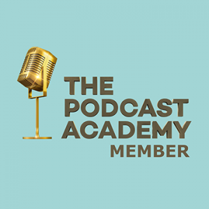 The Podcast Academy Member Badge