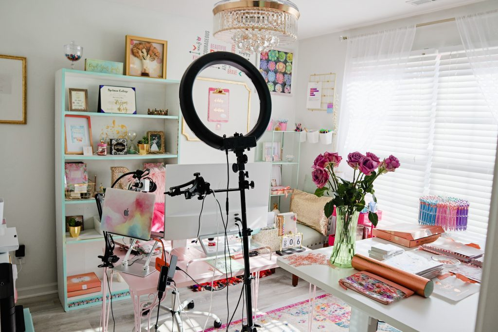 Radiant Decluttering Home Office Transformation 1