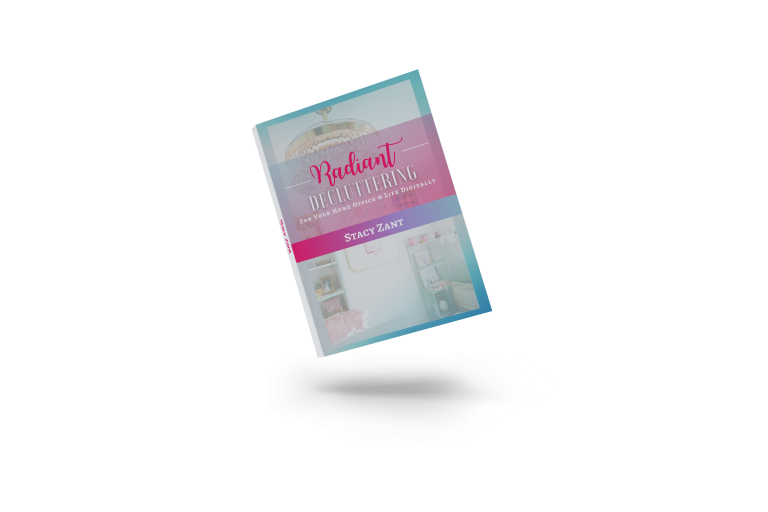 Stacy Zant Radiant Decluttering Book Mockup