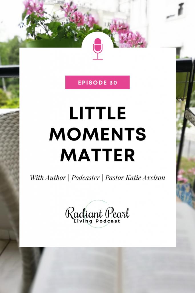 Episode 30 Podcast Pin Little Moments Matter